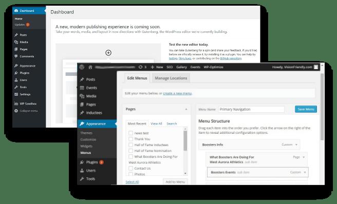 cms website design dublin ireland