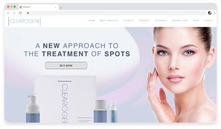 clearogen web & graphic design dublin ireland as design