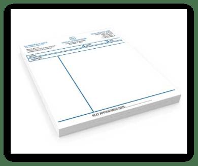 grpahic design dublin irealand prescription pads